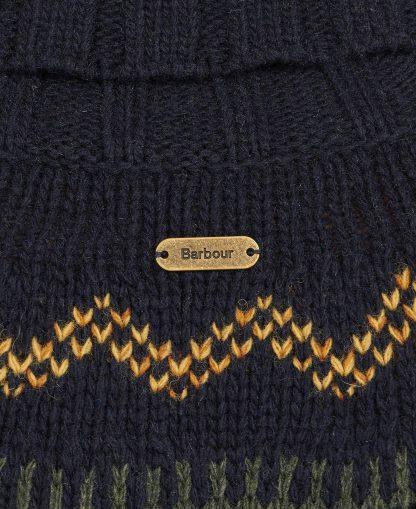 LKN1162NY73 Barbour Hebden Knit Navy