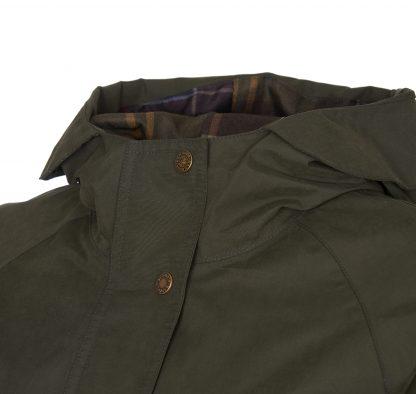 LWB0650OL52 Barbour Linwood Waterproof Coat