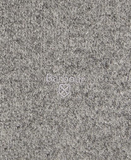 MKN1187GY12 Barbour Tisbury Half Zip Grey