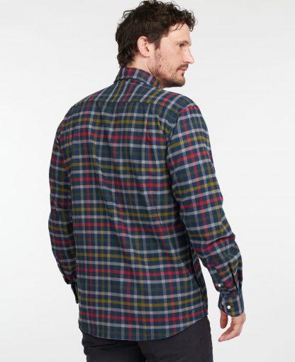 MSH4983NY91 Barbour Hadlo Regular Fit Shirt Navy