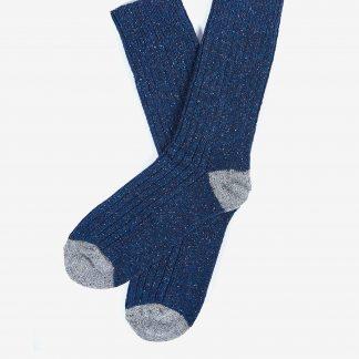 MSO0091NY31 Barbour Houghton Socks Navy
