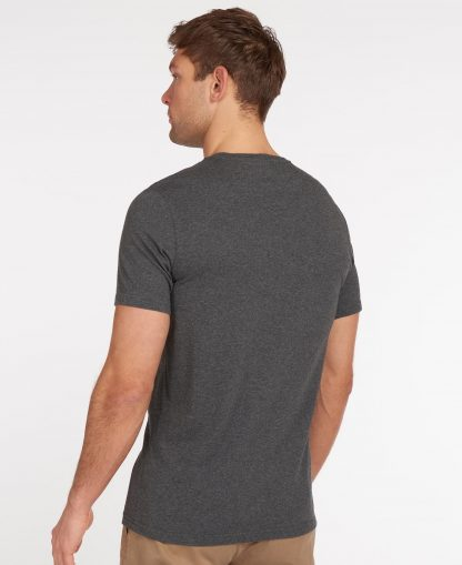 MTS0331GY73 Barbour Sports T-Shirt Slate Marl