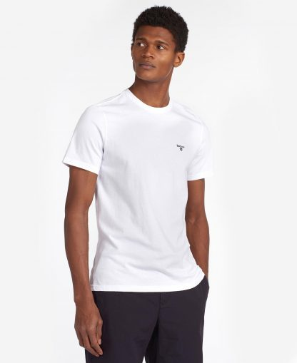 MTS0331WH11 Barbour Sports Tee White