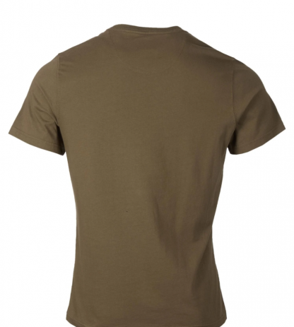 MTS0331OL54 Barbour Sports T-Shirt Mid-Olive
