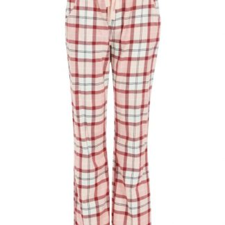 LNW0003RE81 Barbour Nancy PJ Trousers Red/Pink Tartan