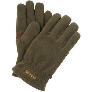 Barbour Coalford Fleece Gloves Olive