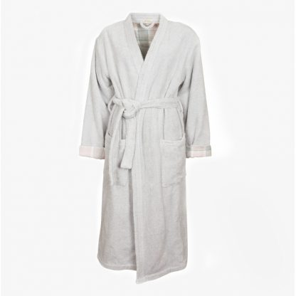 LNW0001GY12 Barbour Ada Dressing Gown Grey
