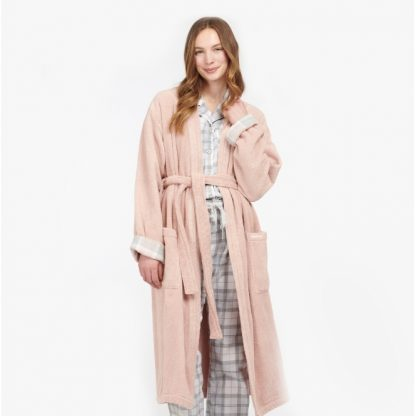 LNW0001PI11 Barbour Ada Dressing Gown Light Pink