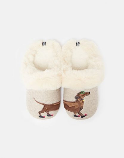 Joules Sausage Dog Slippers