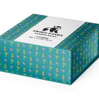 Swole Panda Tropical Socks Gift Box