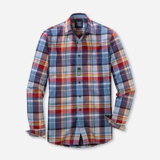 40828435 Olymp Warm Check Shirt Multi