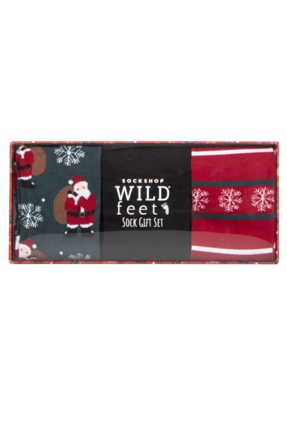 Santa Socks Gift Set