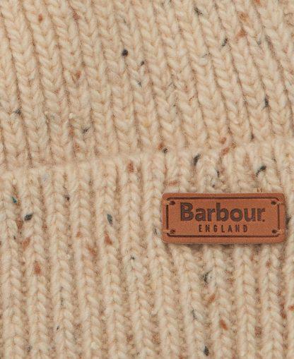 LHA0458BE11 Barbour Whitley Fleck Beanie Oatmeal