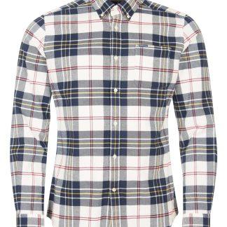 MSH5037BE11 Barbour Ronan Tailored Shirt Ecru