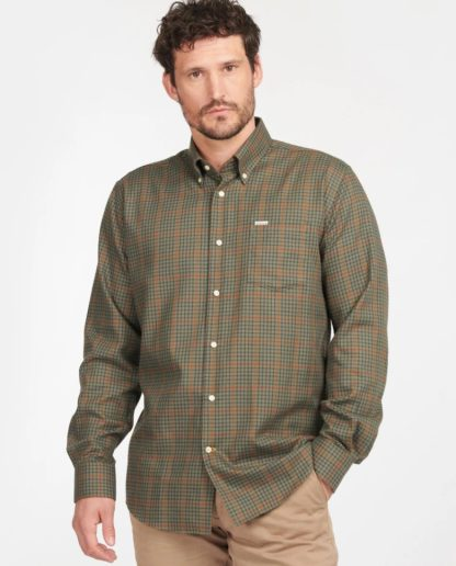 MSH5044OL51 Barbour Henderson Thermo Weave Olive