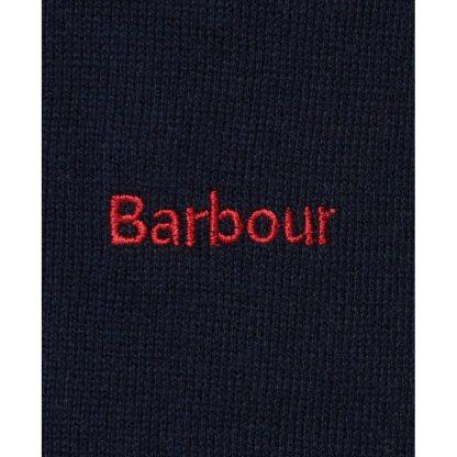 LKN1165NY73 Barbour Saddle Knit Navy